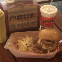 Phil's Cole Slaw Fried Chicken Sandwich