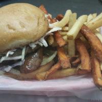 The Salchicha Burger